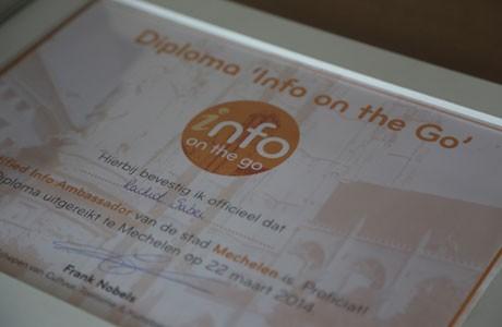Diploma-uitreiking Mechelen