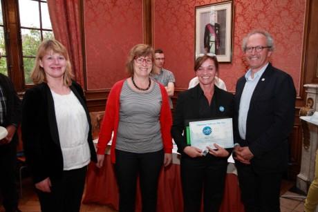 Diploma-uitreiking Brugge