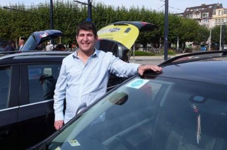 Taxichauffeur Gent