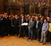 Foto's diploma-uitreiking Antwerpen