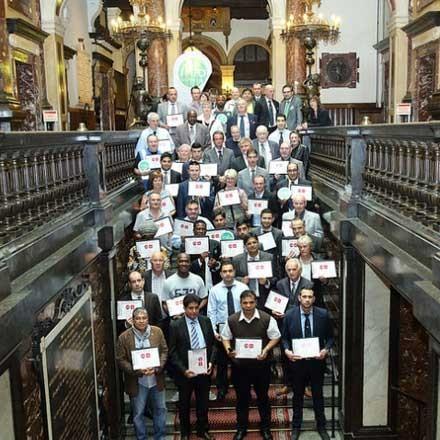 Foto's diploma-uitreiking Antwerpen 2014
