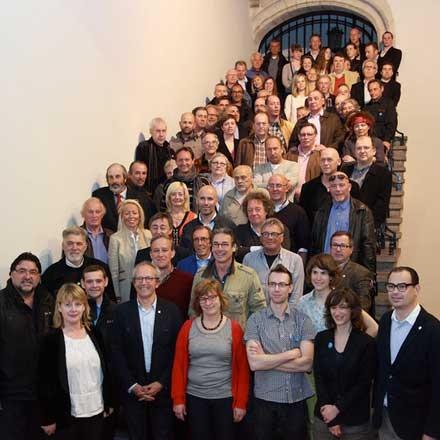Foto's diploma-uitreiking Brugge